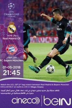 REAL MADRID VS B.MUNICH - UCL 2018 LIVE
