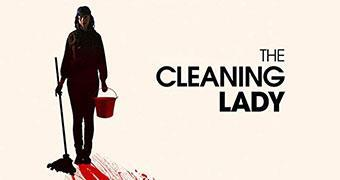 THE CLEANING LADY (ENGLISH) -Movie banner
