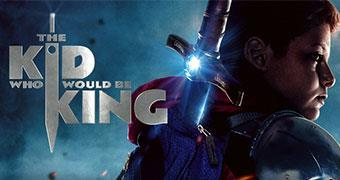 THE KID WHO WOULD BE KING (ENGLISH) -Movie banner