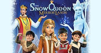 THE SNOW QUEEN: MIRRORLANDS (ANIMATION) -Movie banner
