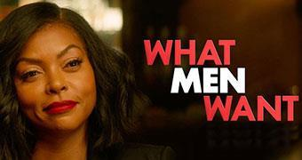 WHAT MEN WANT (ENGLISH) -Movie banner
