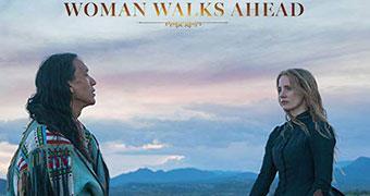 WOMAN WALKS AHEAD (ENGLISH) -Movie banner